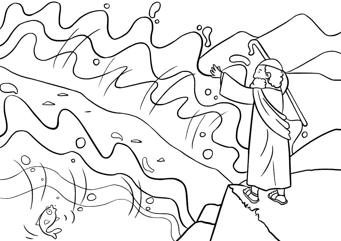 Mose und Teilung des Meeres