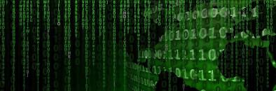 Bild: Matrix, Zahlen.
